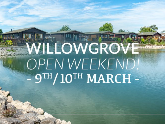 Willowgrove Open Weekend 9/10 March!