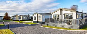 attractive grounds at poulton plaiz leisure park