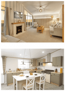 uk leisure parks new homes with central heating and double glazing