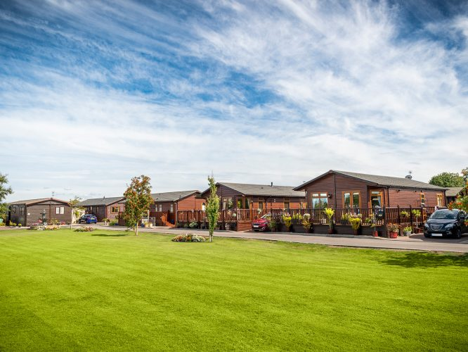 Luxurious Show Homes at Oakmere Country Park