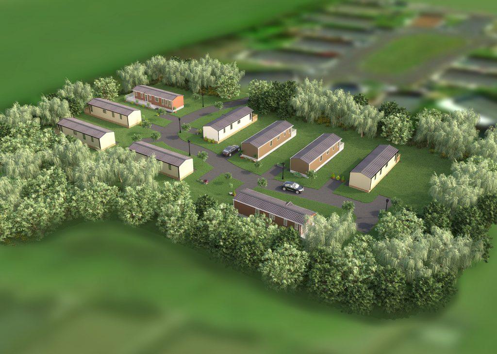 Oakwood Crescent at Glenfield Park
